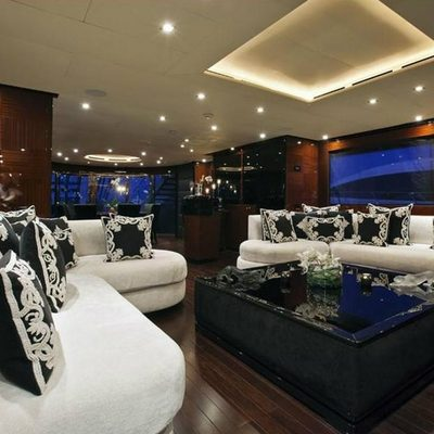 Whispering Angel Yacht Main Salon