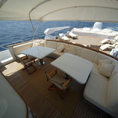 India Yacht Top Deck Seating