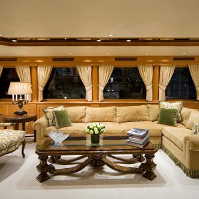 Sojourn Yacht Main Salon Sitting Area