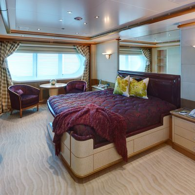 Pegasus VIII Yacht Guest Stateroom 4