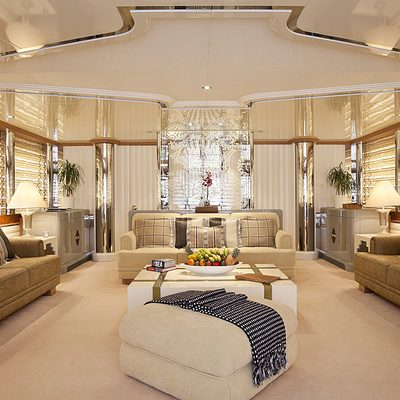Eclipse Yacht Upper Deck Saloon