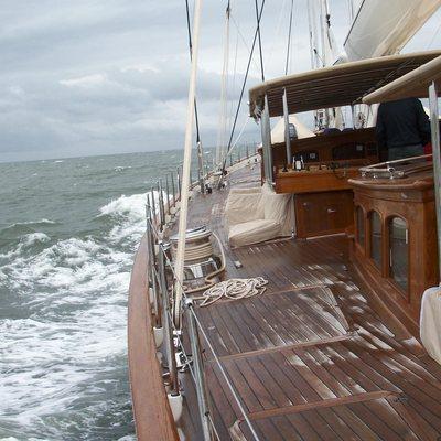 Athos Yacht Exterior - Side