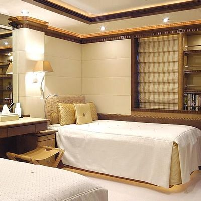 Sea Walk Yacht Twin Stateroom - Light