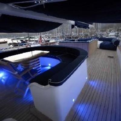 Esma Sultan Yacht Exterior Seating
