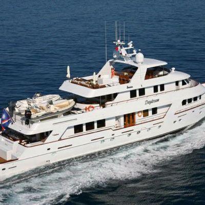 Daydream Yacht Running Shot