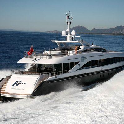 G Force Yacht Running Shot