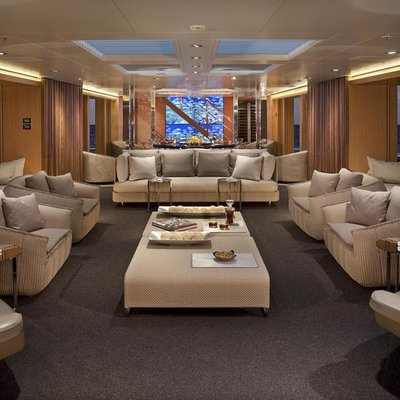 Big Fish Yacht Main Salon