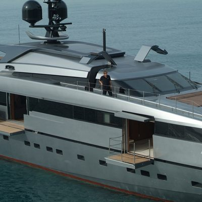 4A Yacht Aerial - Side
