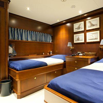 Axantha II Yacht Twin Stateroom