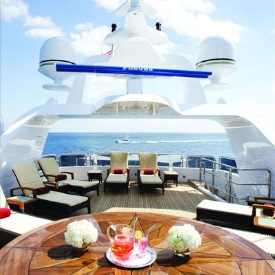 Diamonds Are Forever Yacht Upper Sundeck