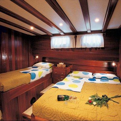 Matina Yacht Twin Stateroom
