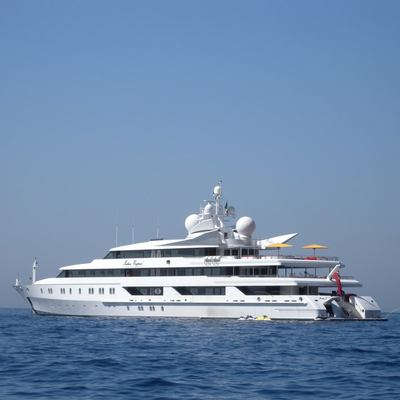 Neom Yacht Profile shot