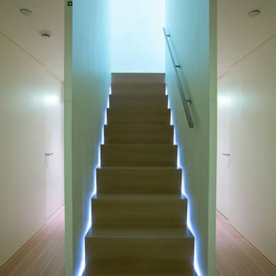 Baracuda Valletta Yacht Stairwell - Lights