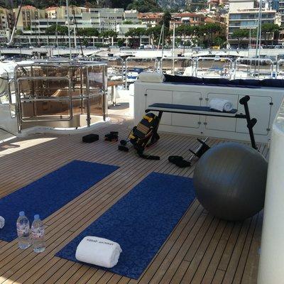 African Queen Yacht Gym Equipment