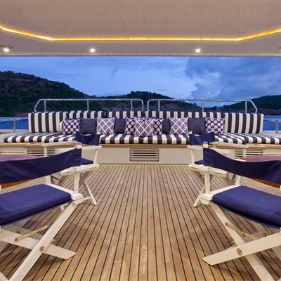 Diamond Yacht Main Aft Deck