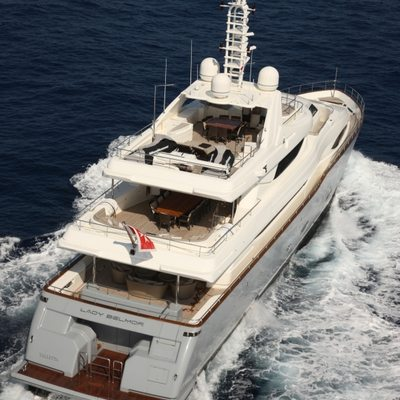 Libertas Yacht Running Shot - Rear View