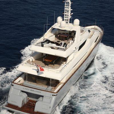 Libertas Yacht Running Shot - Rear View