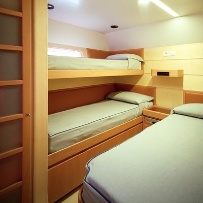 Viriella Yacht Twin Stateroom with Pullman
