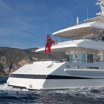 La Tania Yacht Deck View