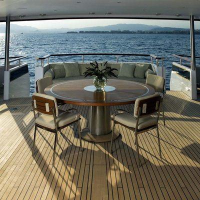 Il Cigno Yacht Main Deck