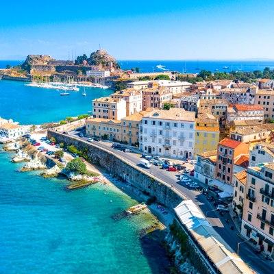 Disembark in Corfu