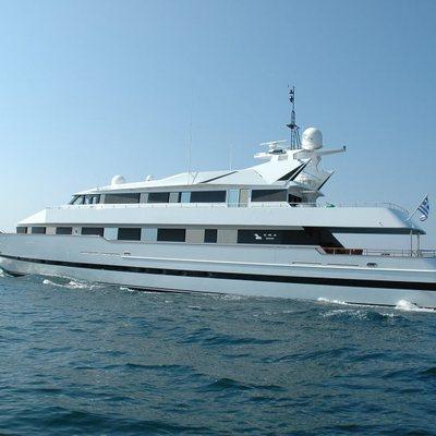 Bella Stella Yacht Running Shot - Profile