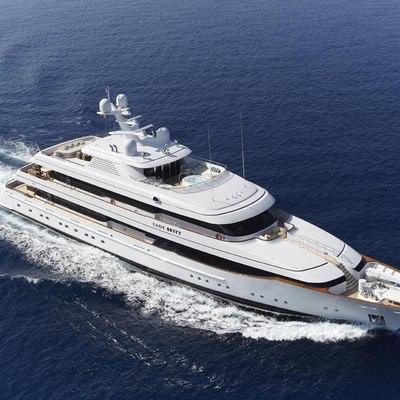 Lady Britt Yacht Underway