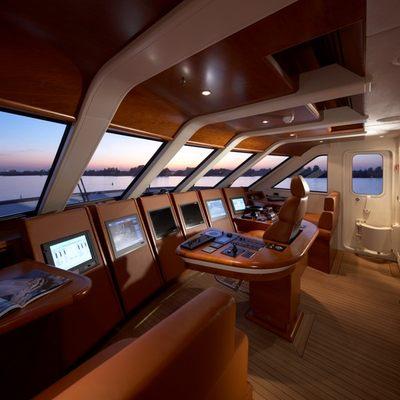 Northlander Yacht Pilothouse