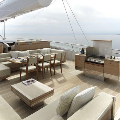 Twizzle Yacht BBQ Dining