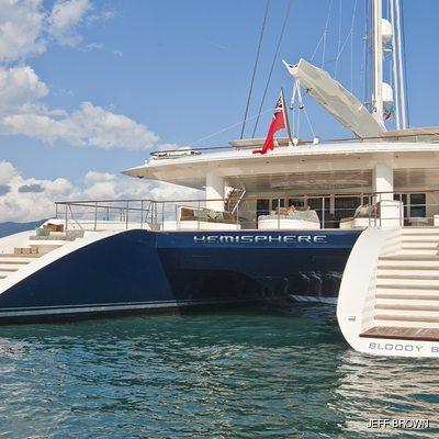 Hemisphere Yacht Stern