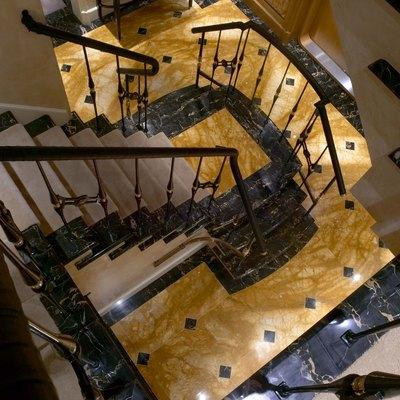 Utopia Yacht Staircase