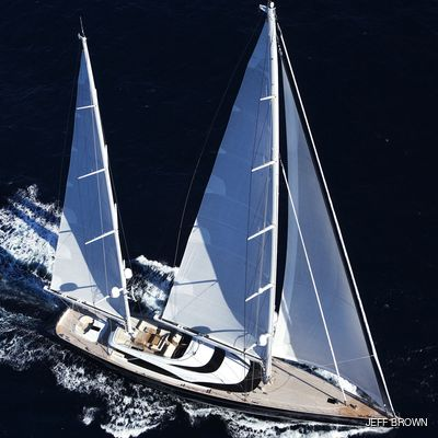Twizzle Yacht Aerial View