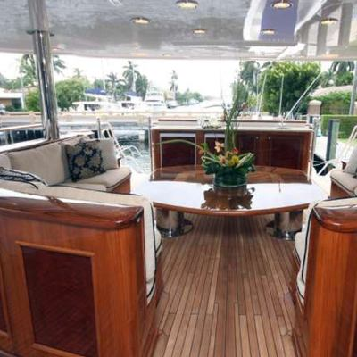 Far From It Yacht Salon on Main Deck