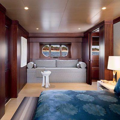Cyan Yacht Master Stateroom