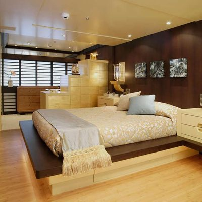 Perle Bleue Yacht Master Stateroom