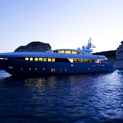 Barents Sea Yacht Night Profile