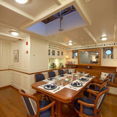Germania Nova Yacht Main Dining