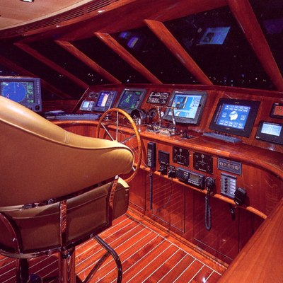 Forty Love Yacht Pilothouse