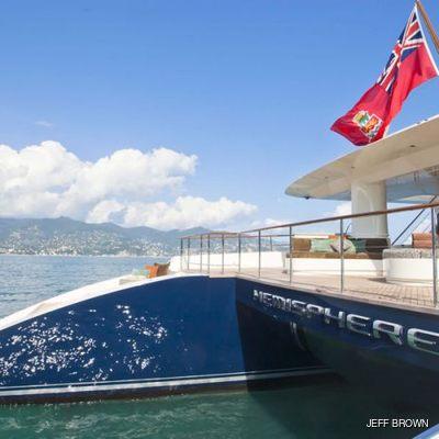 Hemisphere Yacht Stern - Detail