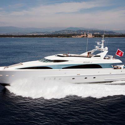 Strega Yacht Running Shot - Profile