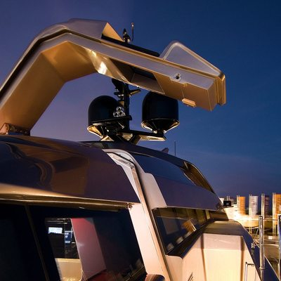 4A Yacht Lifting Gullwings - Night