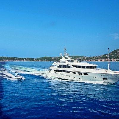 Latitude Yacht Running Shot