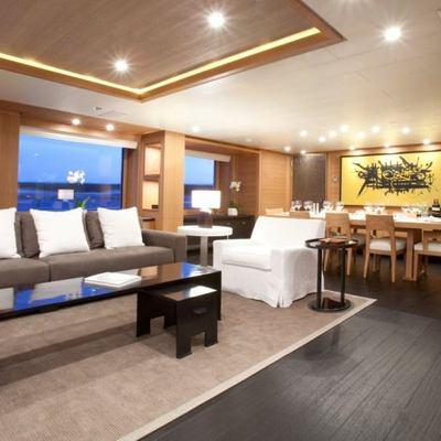 Spirit Yacht Main Salon View