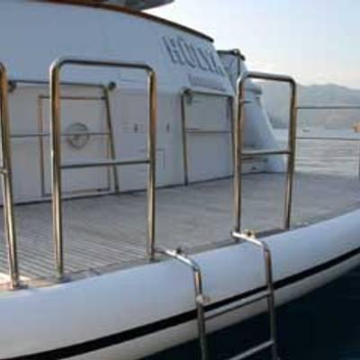 Crocus Yacht Swimming platform