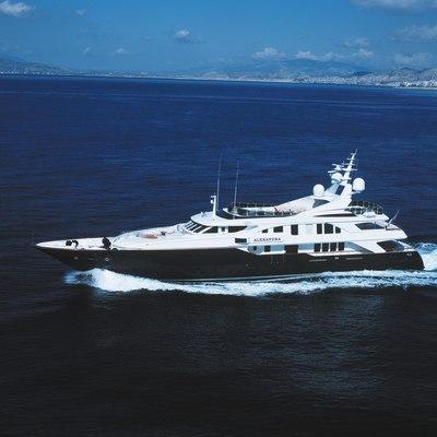 Alexandra Yacht Side View