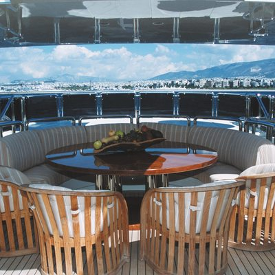 Alexandra Yacht Exterior Dining