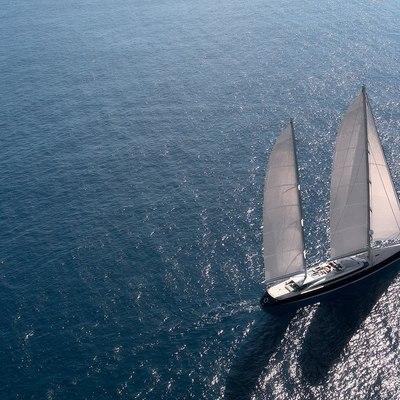 Vertigo Yacht Aerial View