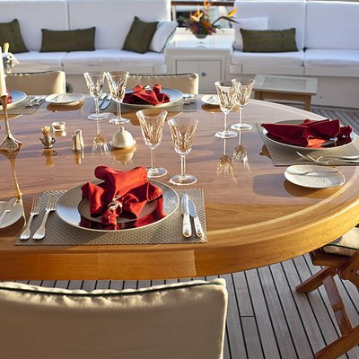 Eclipse Yacht Alfresco Dining Table