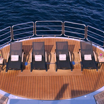 Siren Yacht Sun Loungers