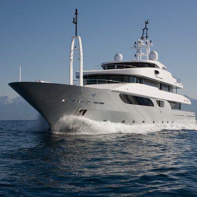 Rarity Yacht Running Shot - Front